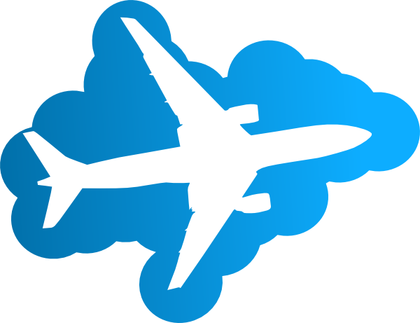 airplane clipart transparent background - photo #38