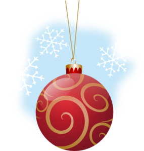 Red Ornament Clip Art