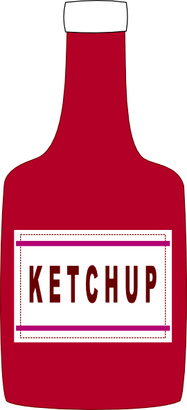 Ketchup Bottle Clip Art at Clker.com - vector clip art ...