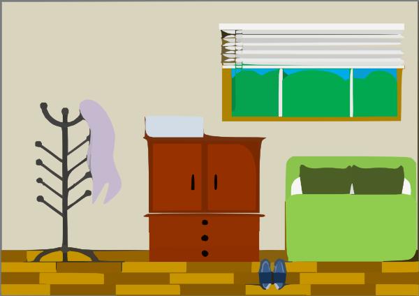 Bedroom 5 Clip Art At Clker Com Vector Clip Art Online