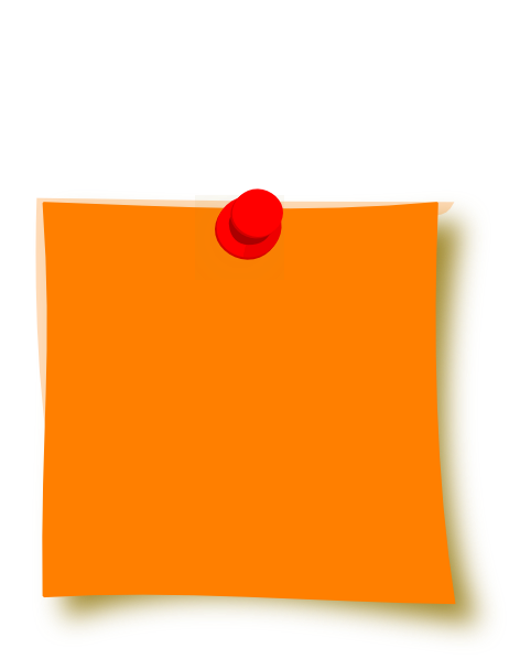 New Orange Sticky Clip Art at Clker.com - vector clip art ...