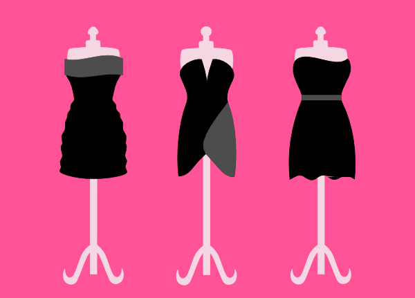 Dresses Clip Art at Clker.com - vector clip art online, royalty free ...
