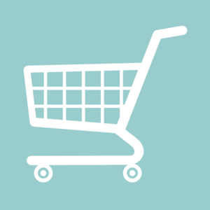 White Shopping Cart Clip Art