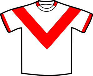 Red V Shirt Clip Art
