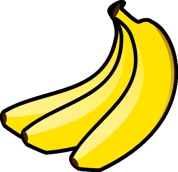 Bananas Clip Art at Clker.com - vector clip art online, royalty free ...
