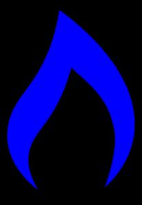Blue Flame Simpleblueblack Clip Art at Clker.com - vector ...  Blue Flames Clip Art