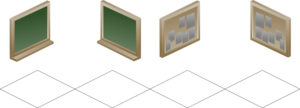 Isometric Board Clip Art