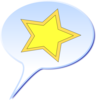 Speech Star Clip Art