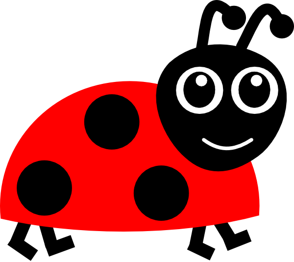 ladybug cartoon clip art at clker com vector clip art online rh clker com cartoon ladybugs clipart cartoon ladybug coloring pages
