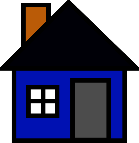 House Clip Art at Clker.com - vector clip art online, royalty free ...