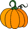 Pumpkin Simple Clip Art