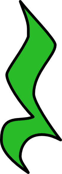 Quarter Rest - Green Clip Art at Clker.com - vector clip ...