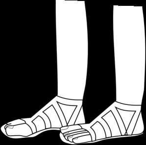 feet clip art at clker  vector clip art online