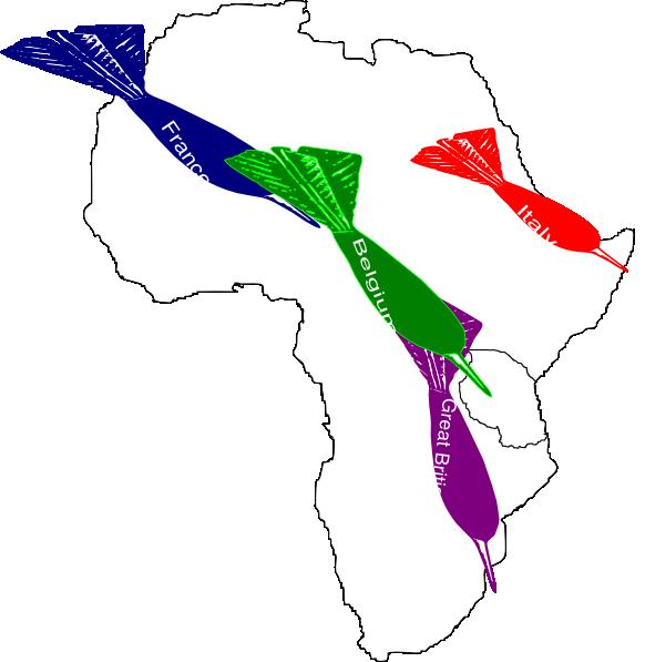 Africa Imperialism Map 2 Clip Art at Clker.com - vector ...