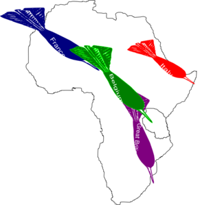 Africa Imperialism Map 2 Clip Art At Clker Com Vector Clip Art