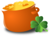 Totetude Pot Of Gold Clip Art