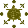 Turtle House Floor Clip Art