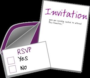 Invite Card Clip Art at Clker.com - vector clip art online ...