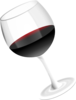 Red Wine Glass Clip Art