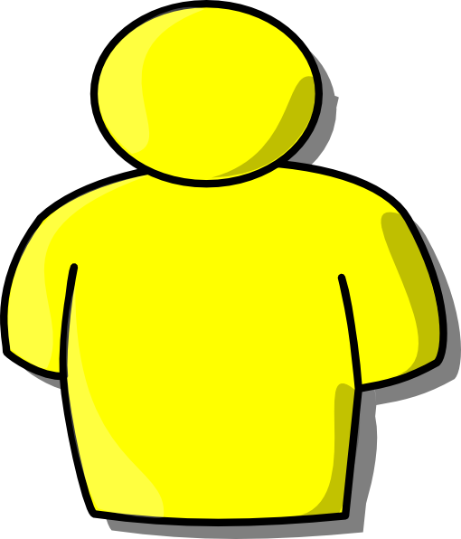 Yellow Person Clip Art at Clker.com - vector clip art ...