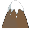 Brown Mountain  Clip Art