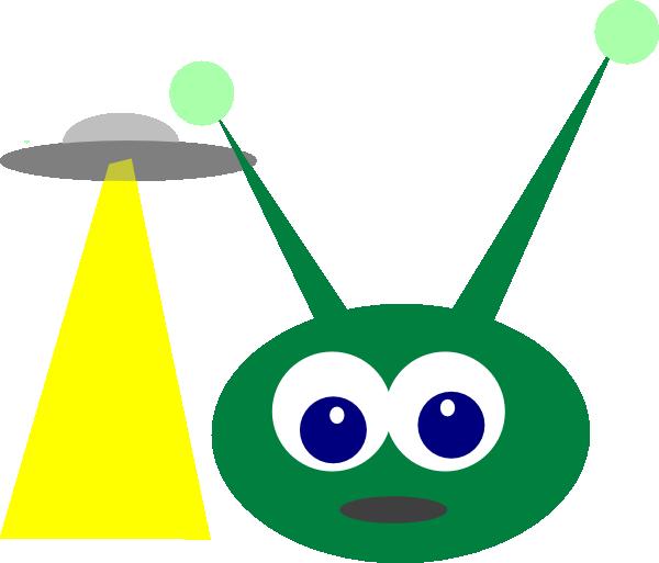 alien ufo clipart - photo #29