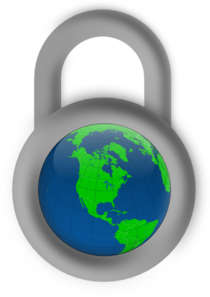 Secure The World Clip Art