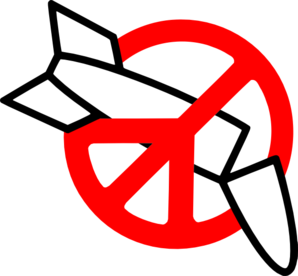 Peace Not War Clip Art