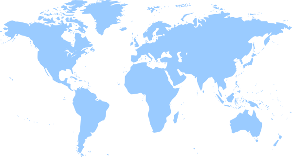 World map blue clip art at clker vector clip art online download this image as gumiabroncs Images