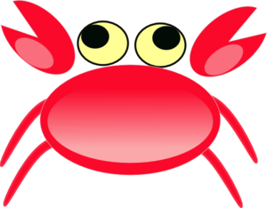 Red Crab Clip Art