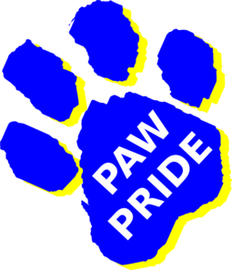 Image result for paw pride clipart