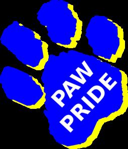 Paw Pride Clip Art at Clker.com - vector clip art online, royalty ...