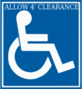 Handicap Clearance Clip Art