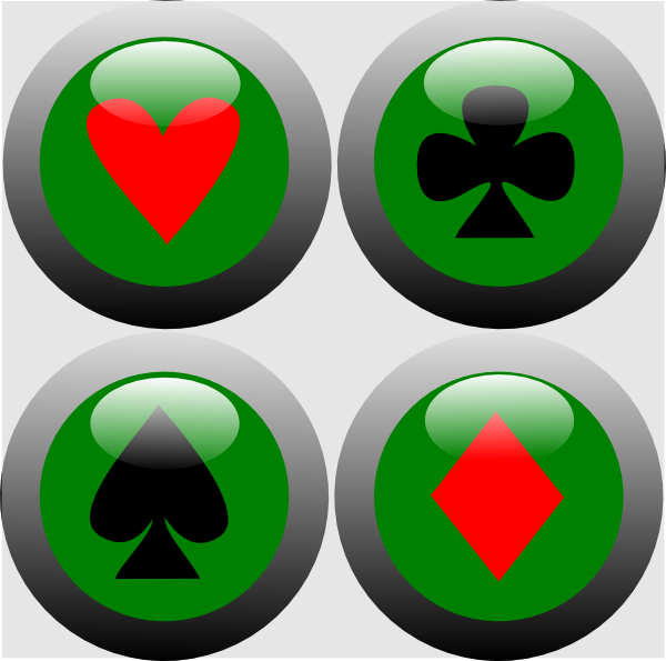 poker button