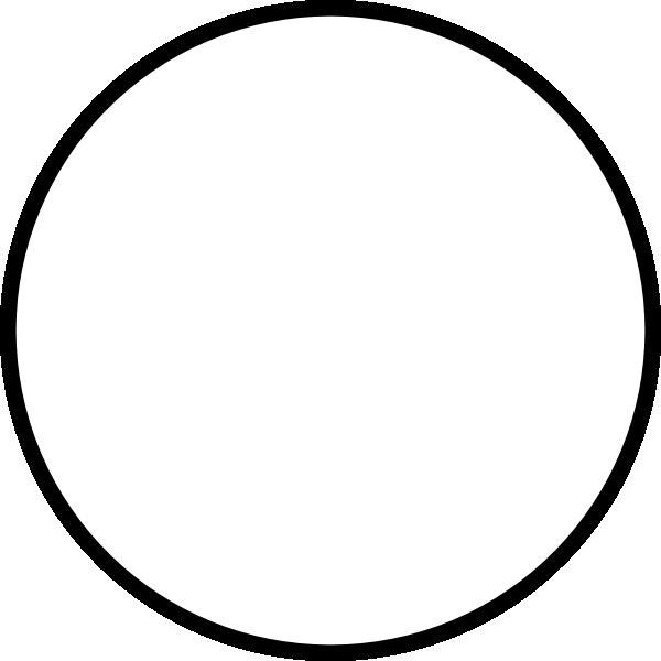 White Round Clip Art at Clker.com - vector clip art online ...