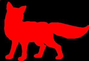 red fox clip art at clker com vector clip art online royalty free rh clker com Red Fox Illustration Christmas Clip Art Fox