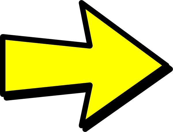 clipart yellow arrow - photo #23