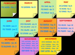 Calendar Month Bday Clip Art at Clker.com - vector clip art online ...
