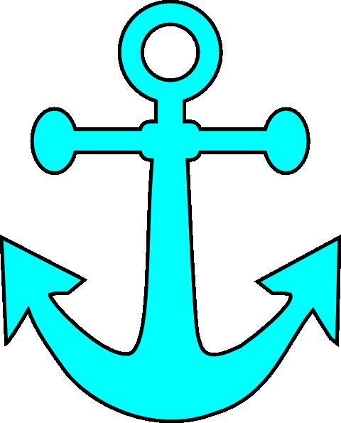 Anchor Clip Art At Clker Com Vector Clip Art Online