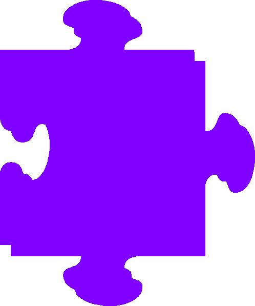 Purple Puzzle Clip Art at Clker.com - vector clip art ...