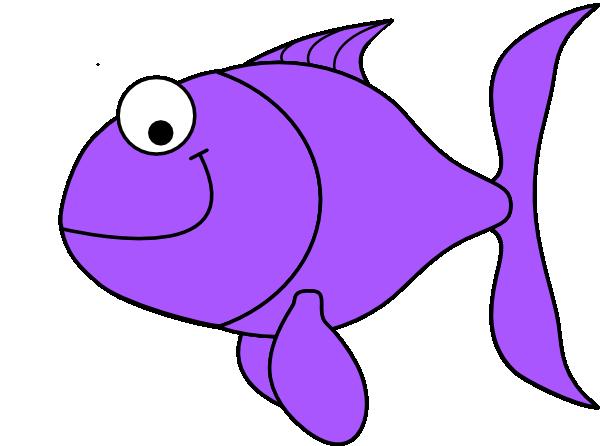 Purple fish clip art at vector clip art online for Fish clipart images
