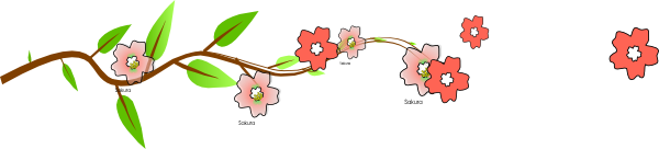 Flowing Vine Clip Art at Clker.com - vector clip art ...