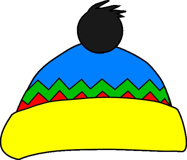 08947b5772c Yellow And Green Hat Clip Art at Clker.com - vector clip art online ...