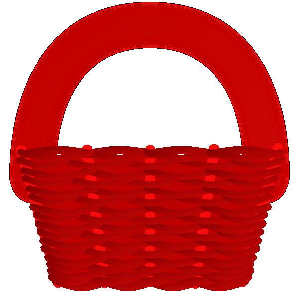 Basket Clip Art Images : Red basket clip art at clker vector