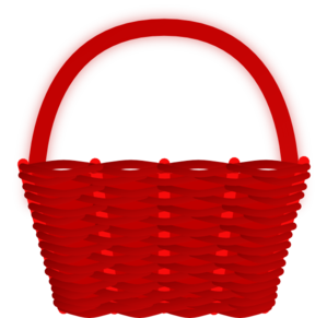 red basket clip art at clker com vector clip art online royalty rh clker com basket clip art free basketball clipart