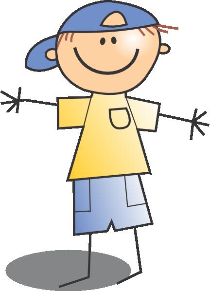 kid wearing cap clip art at clker com vector clip art online rh clker com kids clipart pictures completion