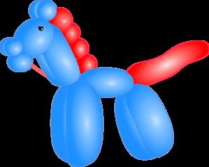 Balloon Horse Clip Art at Clker.com - vector clip art ...