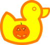 Halloween Rubber Duck Clip Art