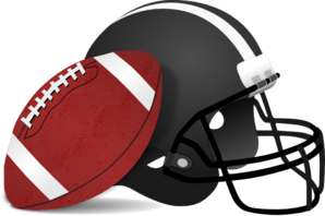 football helmet clip art at clker com vector clip art online rh clker com football clip art free printable football clip art free images