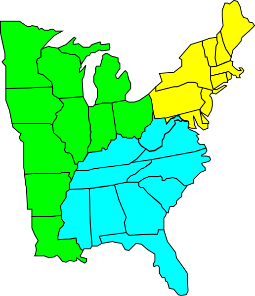 clip art map united states - photo #5